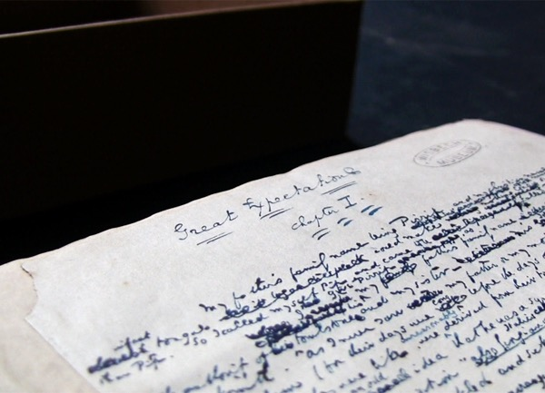Manuscript Great Expectations